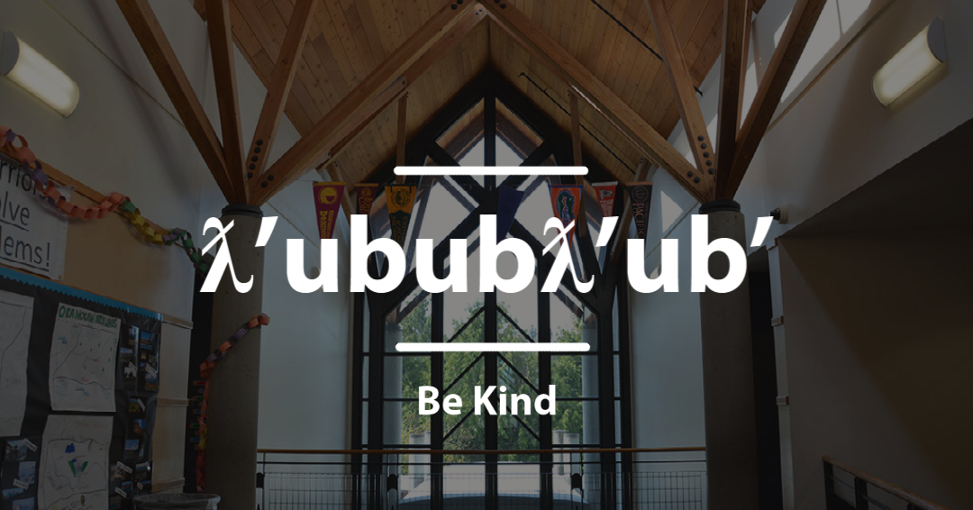 ƛ'ububƛ'ub' - Be Kind