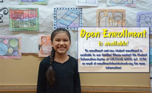 New Student and Re-Enrollment is Open!