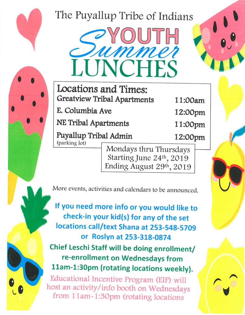 Free Summer Meals Programs