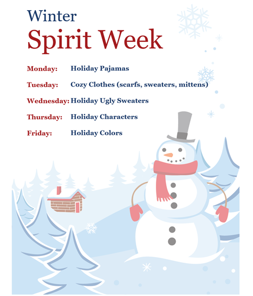 Winter Spirit Week